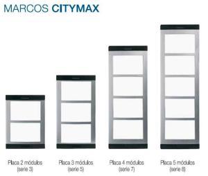 Marcos Citymax y su correspondencia con la Placa Cityline